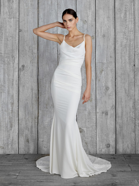 Hampton Wedding                                          dress by Nicole Miller
