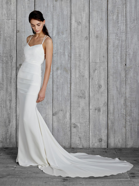 Celine Wedding                                          dress by Nicole Miller