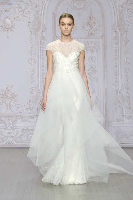 Quelinda gown from the 2015 Monique Lhuillier collection, as seen on dressfinder.ca