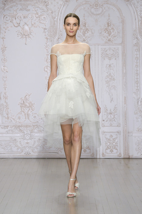 Zoey Wedding                                          dress by Monique Lhuillier