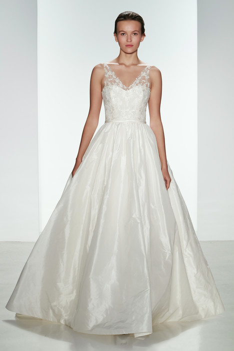 Bardot gown from the 2015 Christos collection, as seen on dressfinder.ca