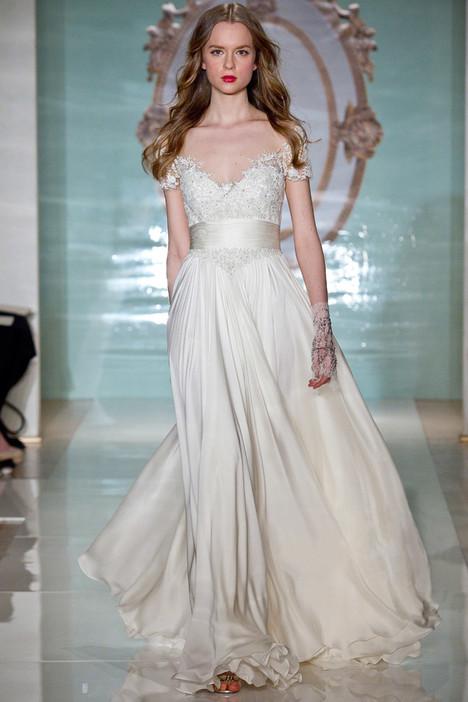 Lovely Girl Wedding                                          dress by Reem Acra