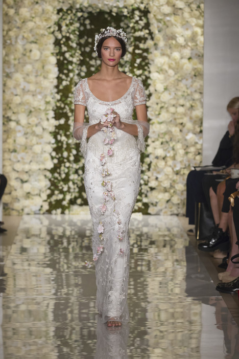 I'm Brilliant Wedding                                          dress by Reem Acra