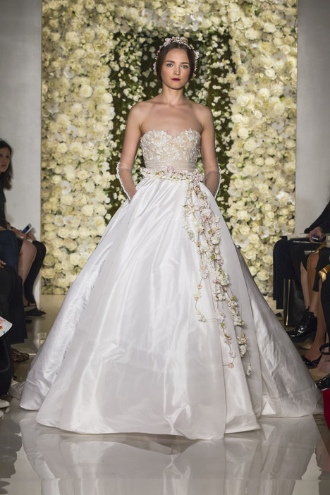 I'm Awesome Wedding                                          dress by Reem Acra
