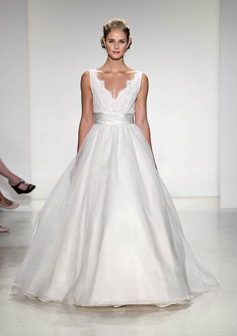 Leah Wedding                                          dress by Blue Willow by Anne Barge