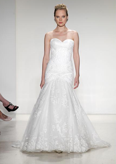 Taylor Wedding dress by Blue Willow by Anne Barge