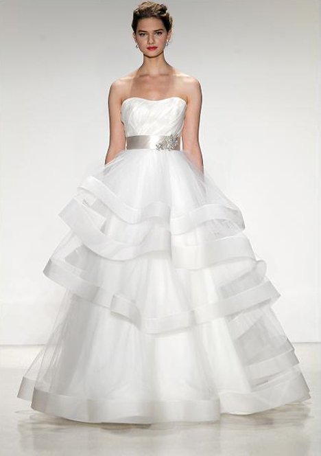 Castellane Wedding                                          dress by Anne Barge