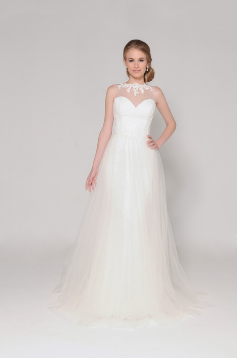 Annabelle + Overskirt Wedding                                          dress by Barbara Kavchok