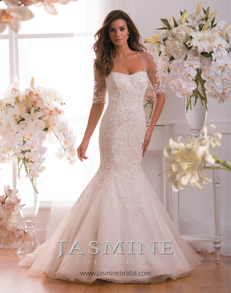 F171009 Wedding                                          dress by Jasmine Collection