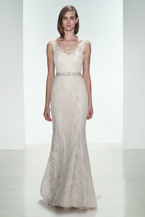 Cassia Wedding                                          dress by Amsale Nouvelle