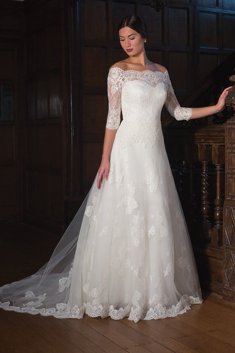 Karen Wedding                                          dress by Augusta Jones