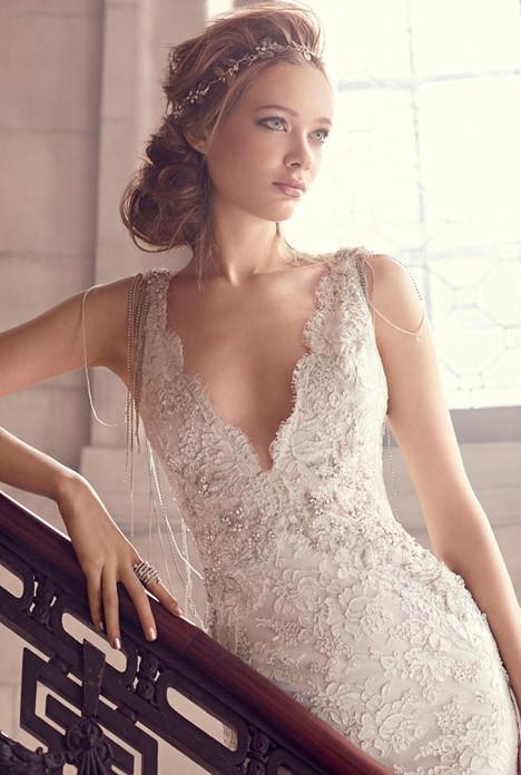 3501 Wedding                                          dress by Lazaro