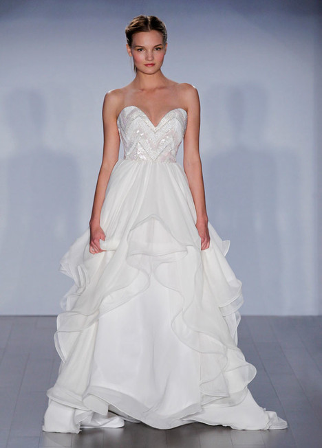 Charlie (6508) gown from the 2015 Hayley Paige collection, as seen on dressfinder.ca