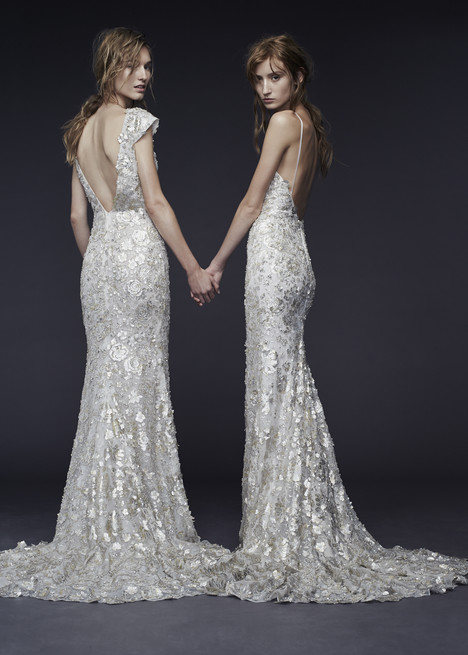 Priya + Pheobe Wedding dress by Vera Wang