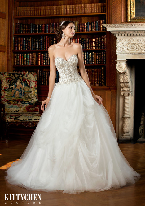 Roslyn Wedding                                          dress by KittyChen Couture