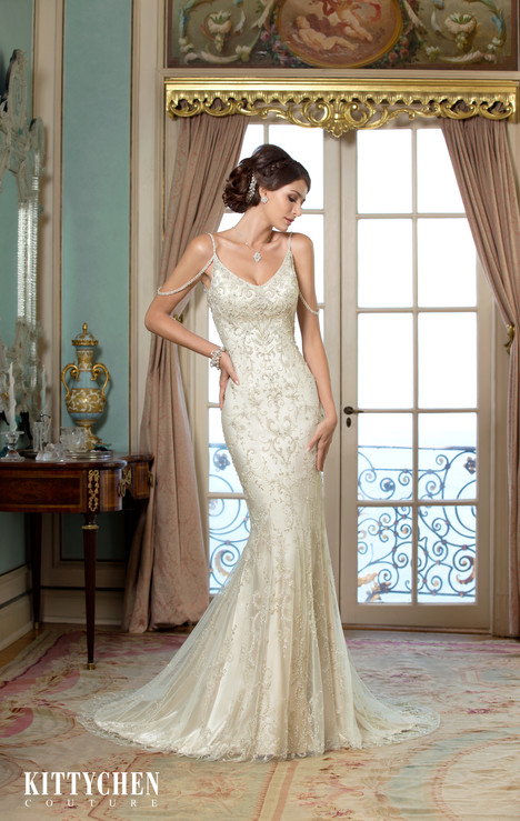 Siri gown from the 2015 KittyChen Couture collection, as seen on dressfinder.ca