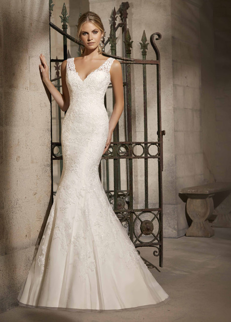 Style 2714 gown from the 2015 Morilee Bridal collection, as seen on dressfinder.ca