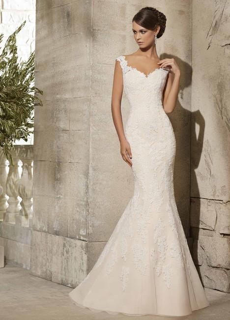 5316 Wedding                                          dress by Mori Lee: Blu