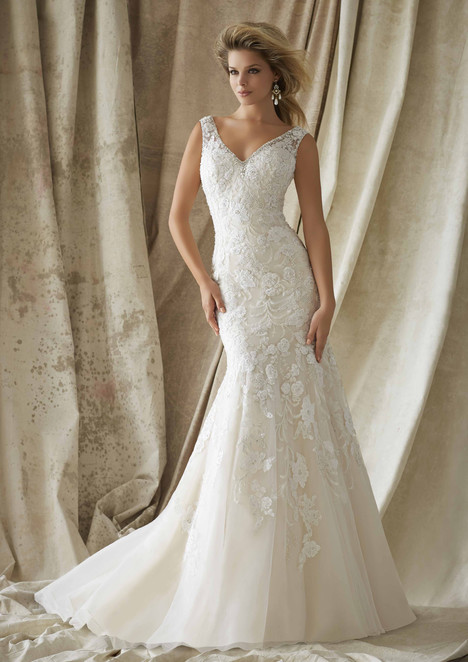 1324 Wedding                                          dress by Morilee AF Couture