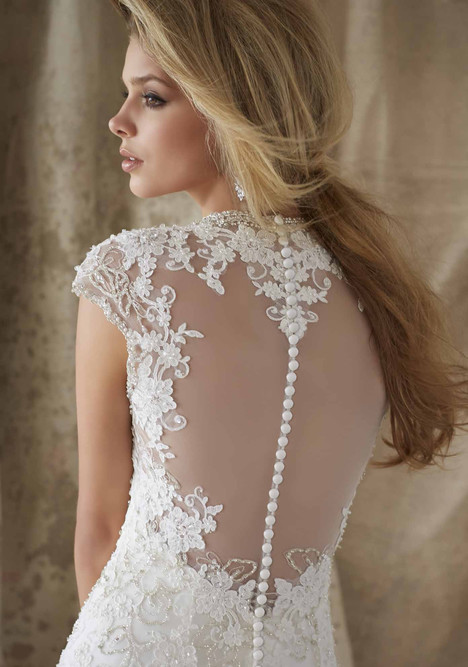 1329 (back) Wedding                                          dress by Morilee AF Couture