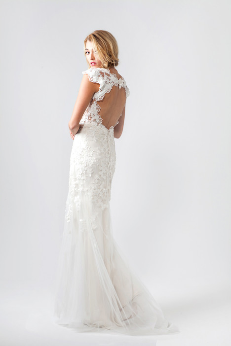 Freya (back) Wedding                                          dress by Sarah Janks
