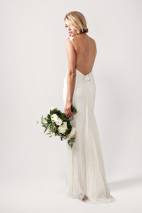 Giselle (back) Wedding                                          dress by Sarah Janks