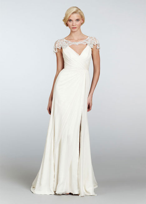 Jordan (6308) gown from the 2013 Hayley Paige collection, as seen on dressfinder.ca