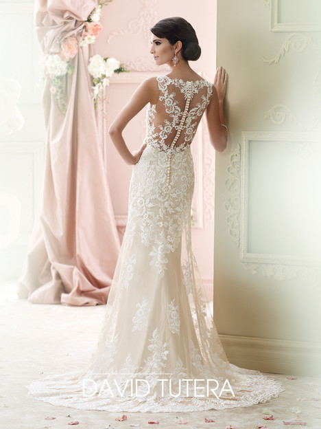 Florine (215278) (back) gown from the 2015 Martin Thornburg for Mon Cheri collection, as seen on dressfinder.ca