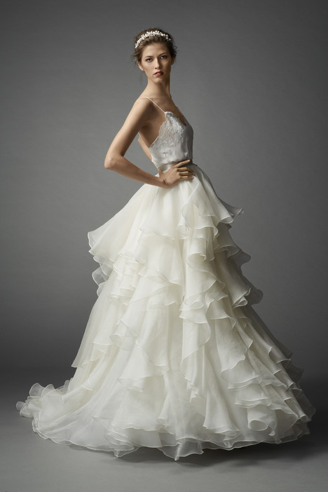 Quince Dress + Priya Skirt Wedding                                          dress by Watters Brides