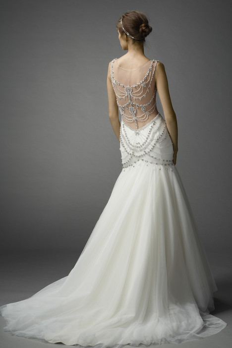 Isa (back) gown from the 2015 Watters Brides collection, as seen on dressfinder.ca