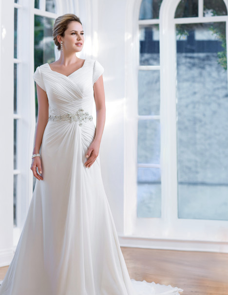 TB7655 Wedding                                          dress by Venus Modest
