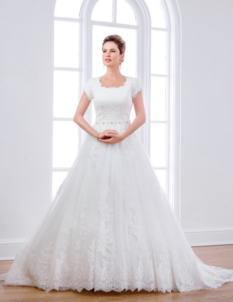 TB7659 gown from the 2015 Venus Modest collection, as seen on dressfinder.ca