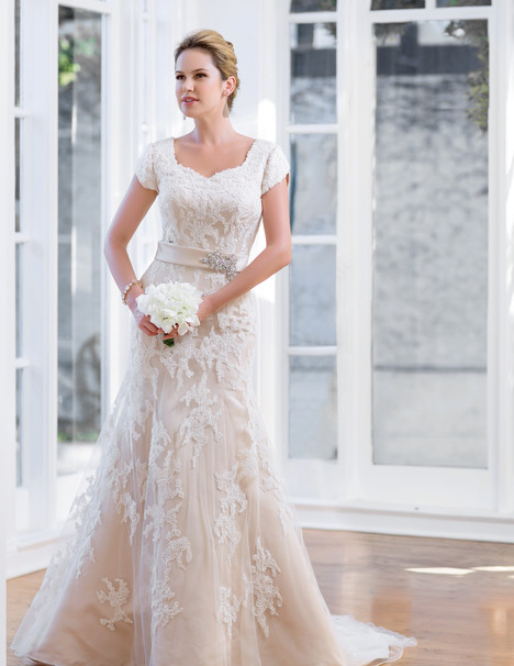 TB7668 Wedding                                          dress by Venus Modest