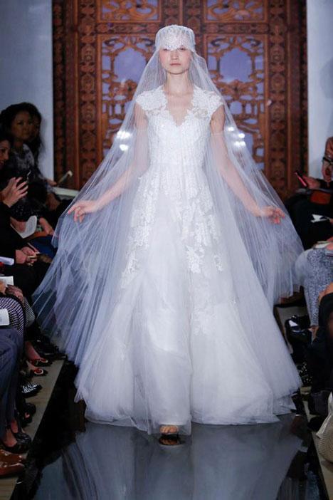 Unforgettable Wedding dress by Reem Acra