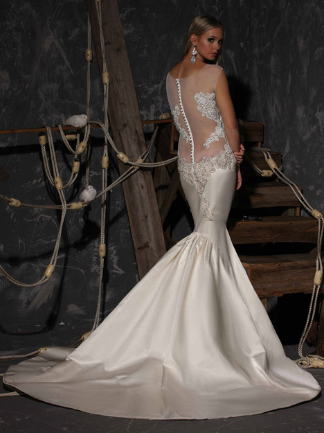 VHC304 (back) Wedding                                          dress by Victor Harper : Couture
