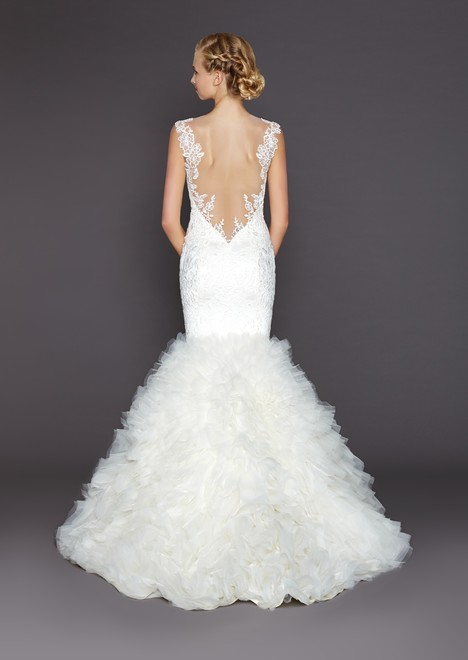Sienna (back) gown from the 2015 Winnie Couture : Blush collection, as seen on dressfinder.ca