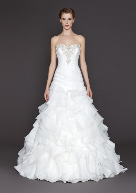 Siri gown from the 2015 Winnie Couture : Blush collection, as seen on dressfinder.ca