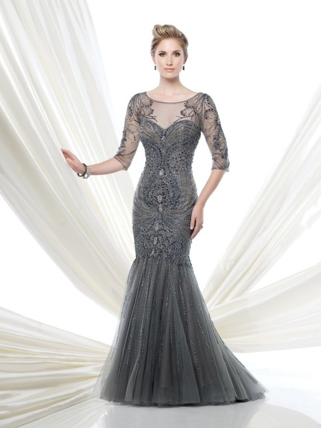 115D77 (grey) Mother of the Bride                              dress by Montage : Ivonne D Collection