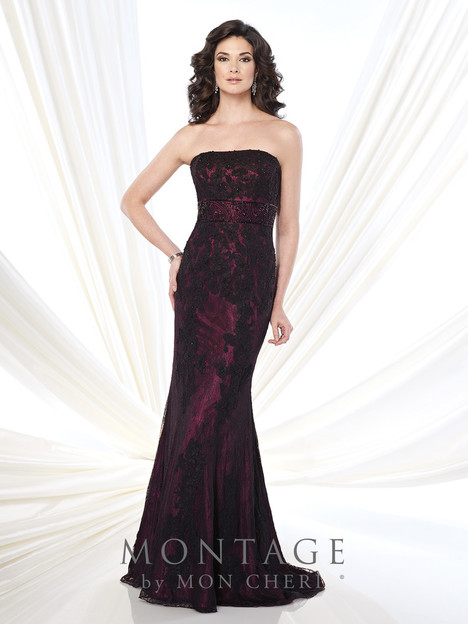 215904 (black/fuschia) Mother of the Bride                              dress by Montage : Ivonne D Collection