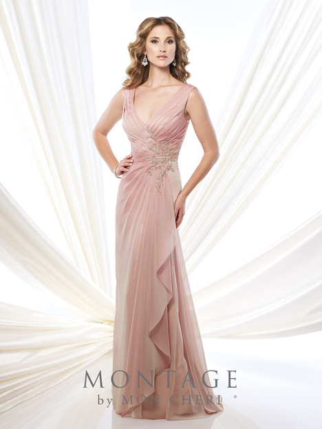 215907 (english rose) Mother of the Bride                              dress by Montage : Ivonne D Collection