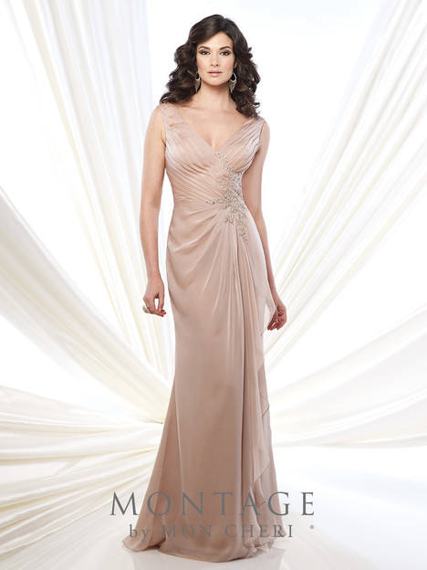 215907 (lt. taupe) Mother of the Bride                              dress by Montage : Ivonne D Collection