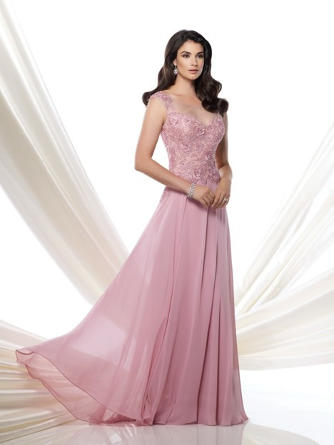 115970 (rose frost) Mother of the Bride                              dress by Montage by Mon Cheri