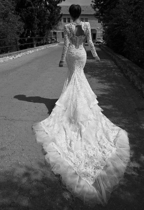 BR-13-8 + Jacket gown from the 2013 Inbal Dror collection, as seen on dressfinder.ca