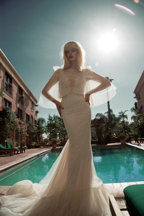 BR-14-05 + Capelet Wedding                                          dress by Inbal Dror