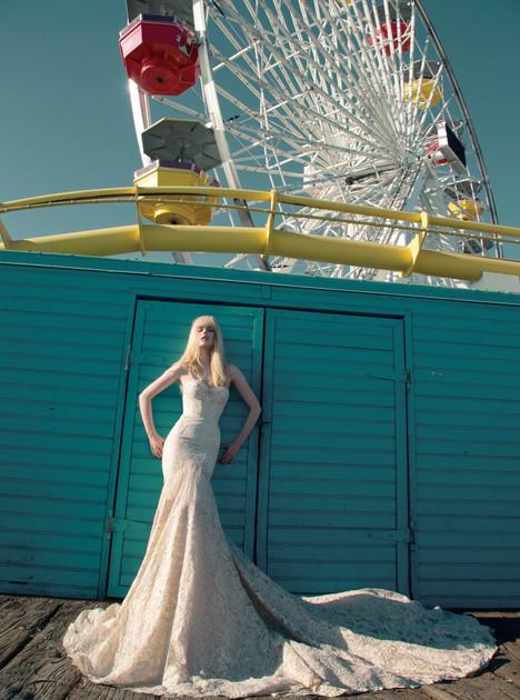 BR-14-10 Wedding                                          dress by Inbal Dror