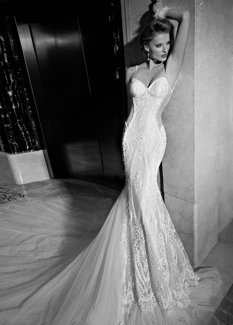 Greta Garbo Wedding                                          dress by Galia Lahav