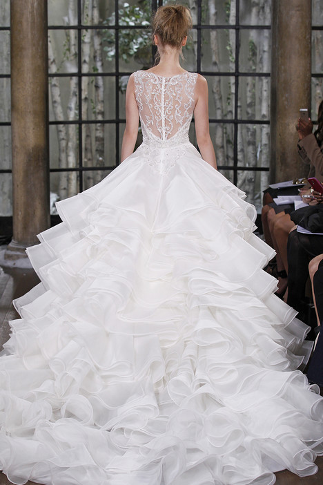 Salerno (back) gown from the 2015 Ines Di Santo collection, as seen on dressfinder.ca