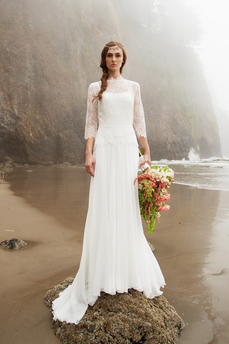 Apollonia Wedding                                          dress by Claire La Faye