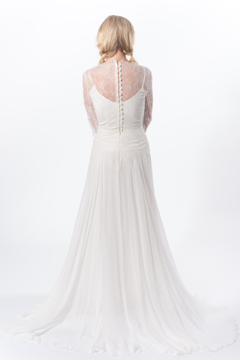 Apollonia (back) Wedding                                          dress by Claire La Faye