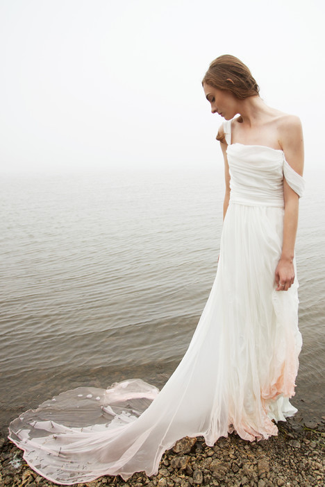 Before Sunset Wedding dress by Claire La Faye